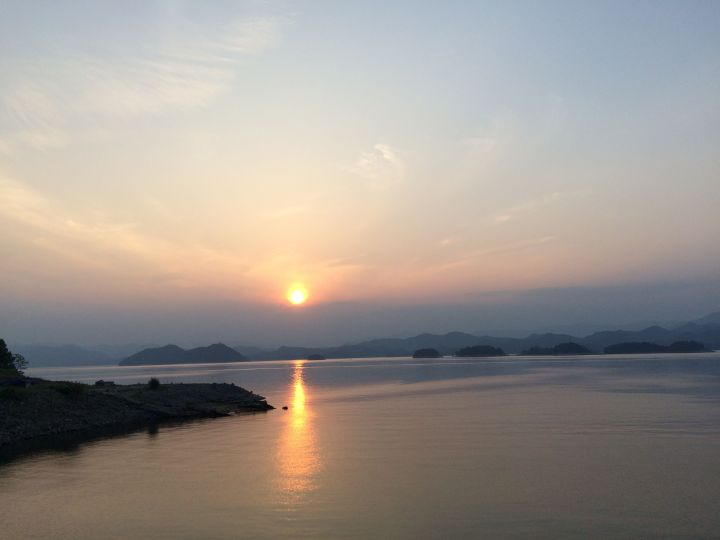 20150523-QianDaoHu-Lac-Soir